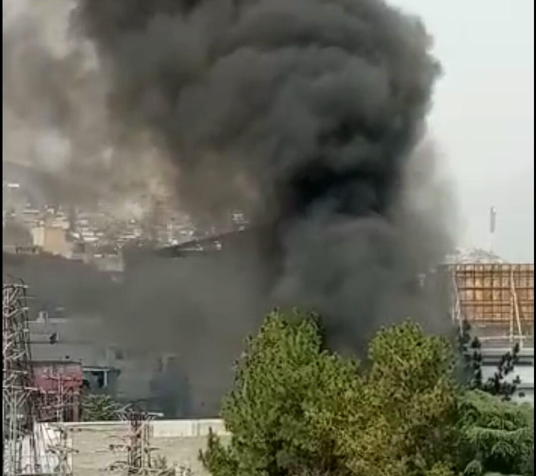 سوات، امانکوٹ گریڈ سٹیشن میں اگ لگ گئی