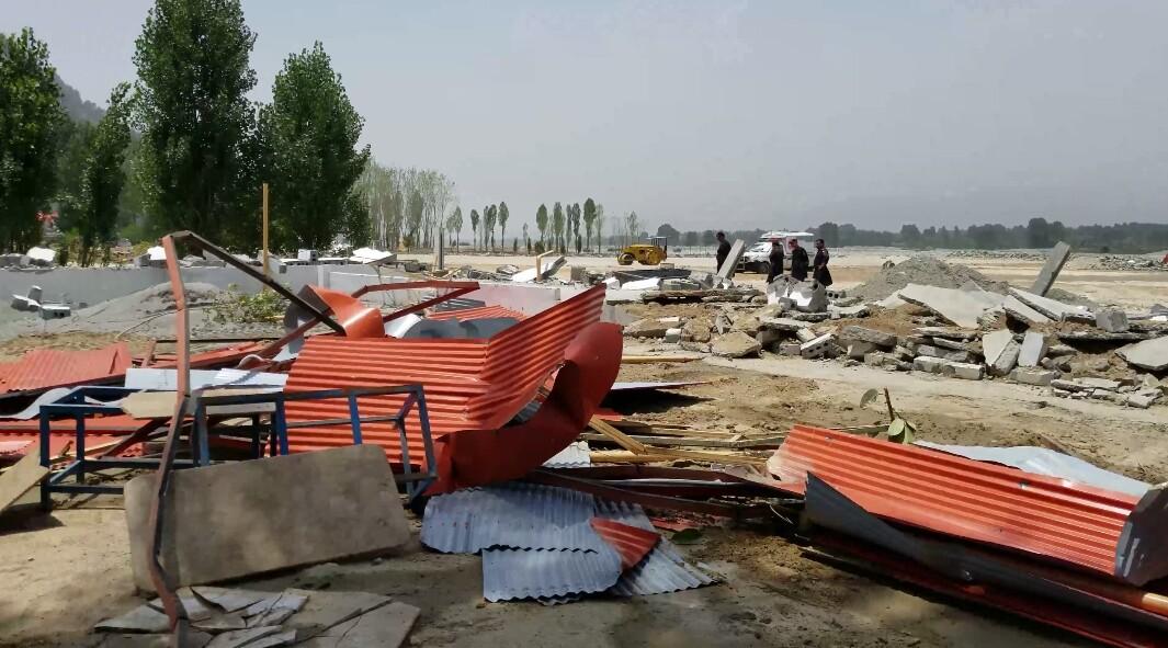 دریائے سوات کے کِنارے تجاوزات کے خلاف آپریشن اور عوامی ردِ عمل
