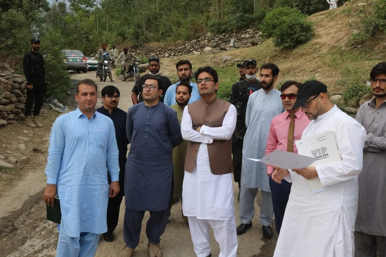 مشیر ہائیر ایجوکیشن واطلاعات کامران خان بنگش کا انجینئرنگ یونیورسٹی سوات کا دورہ