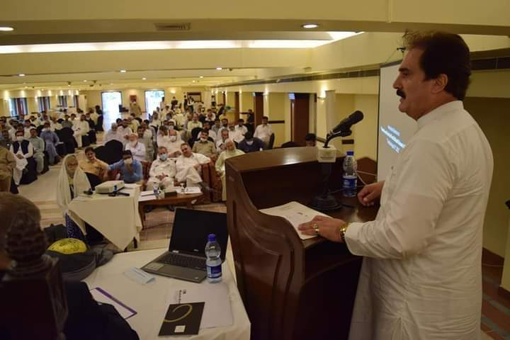 لائیو سٹاک کی ترقی موجودہ حکومت کی ترجیحات میں شامل، محب اللہ خان