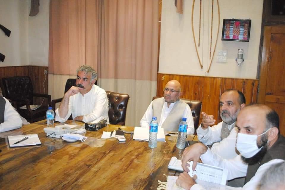 کمشنر ہاوس سیدوشریف میں سوات موٹروے فیز 2 کے حوالہ سے اعلی سطح کا اجلاس