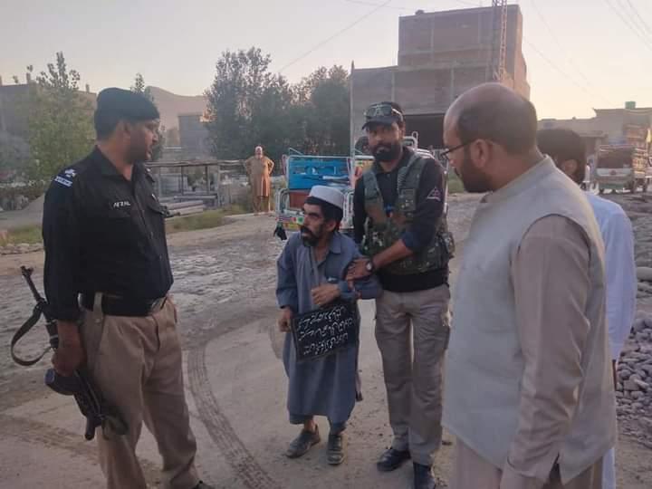 سوات میں پیشہ ورانہ گداگروں کے خلاف آپریشن شروع